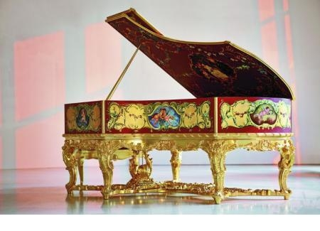 PIANO GRAND C. BECHSTEIN SPECIAL - LOUIS XV (20 TỶ)