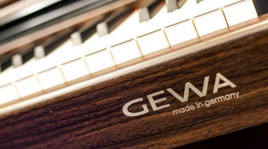 THƯƠNG HIỆU ĐÀN PIANO ĐIỆN GEWA CAO CẤP CỦA ĐỨC ĐÃ CÓ MẶT VIỆT NAM