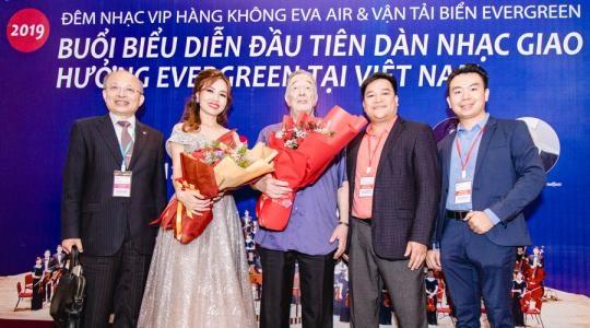 Harmony Music tổ chức chương trình hoà nhạc tại thành phố Hồ Chí Minh ngày 11-12/09/2019 cho dàn nhạc giao hưởng Evergreen đã thành công tốt đẹp