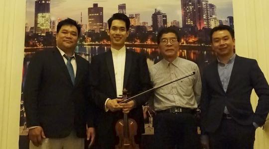Nghệ sĩ Richard Lin lần đầu tiên cùng dàn nhạc giao hưởng Evergreen tại Viêt Nam